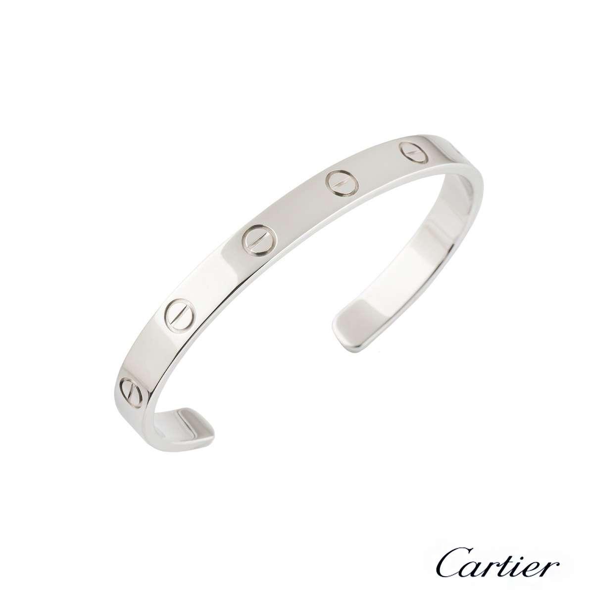 Cartier Love Cuff Bracelet Size 17